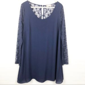 Altar'd State lace sleeved dress